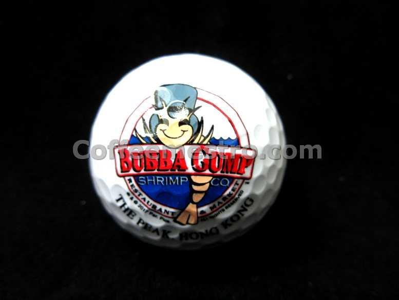 Bubba Gump Shrimp Co. Hong Kong Exclusive Golf Ball
