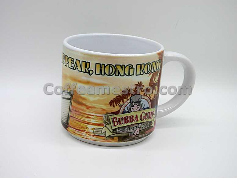 Bubba Gump Shrimp Co Hong Kong Exclusive Mug
