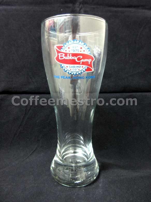 Bubba Gump Shrimp Co. Hong Kong Exclusive Pilsner Glass