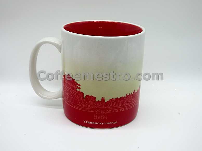 China Starbucks 16oz Hefei Mug City Series