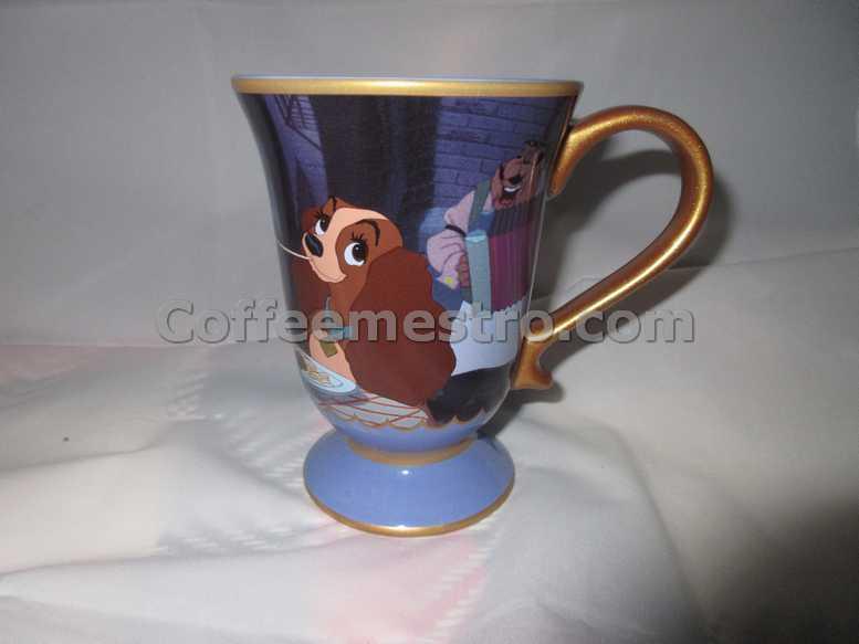 Disney Store Lady and the Tramp 65th Anniversary Mug