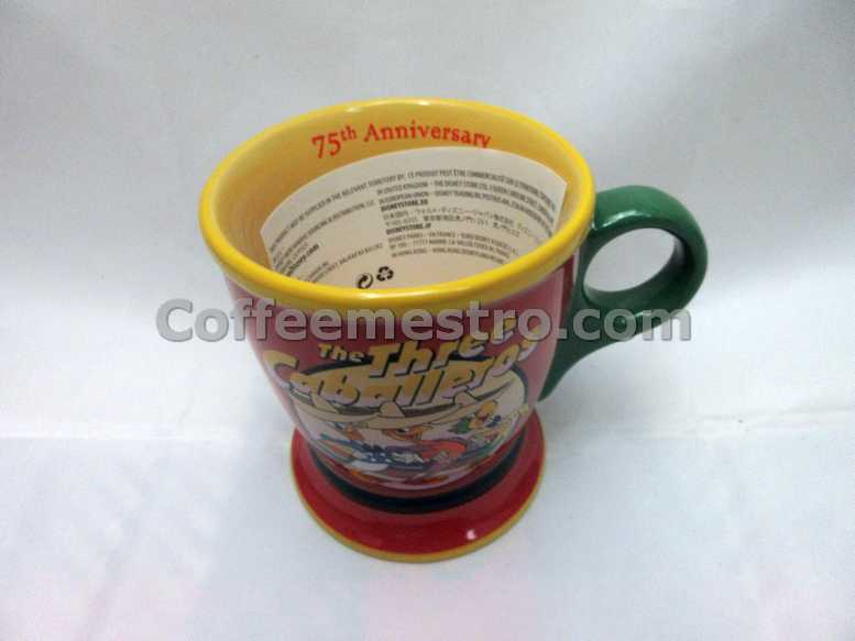 Disney The Three Caballeros 75th Anniversary Mug