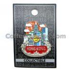 Hard Rock Cafe Hong Kong City Icon Pin