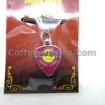 Hard Rock Cafe Hong Kong City Logo Guitar Pick Charm