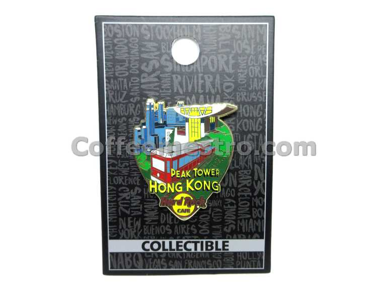 Hard Rock Cafe Hong Kong Greeting From Pin