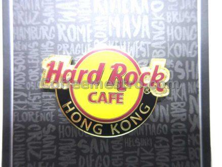 Hard Rock Cafe Hong Kong Hard Rock Logo Button Pin
