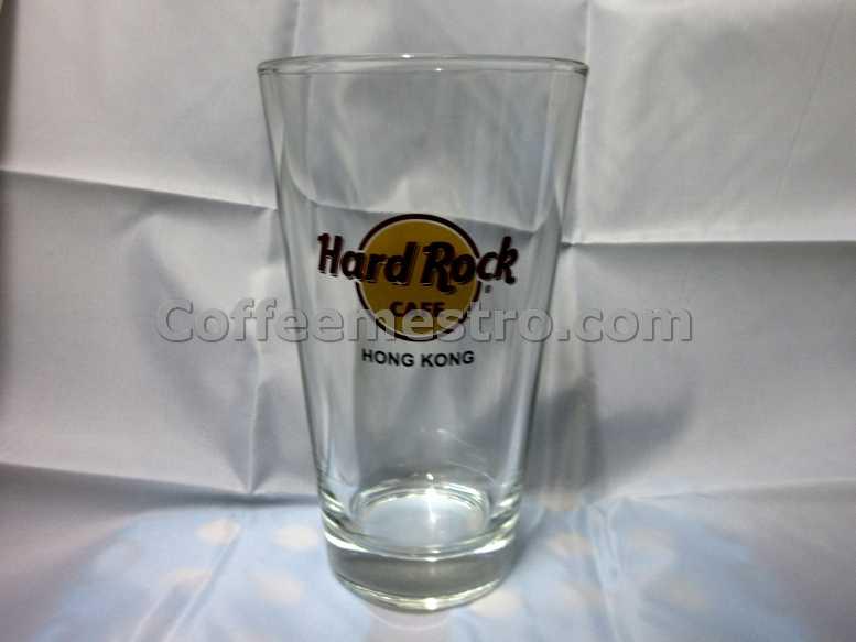 Hard Rock Cafe Hong Kong Pint Glass