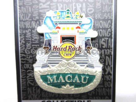 Hard Rock Cafe Macau City Icon Pin