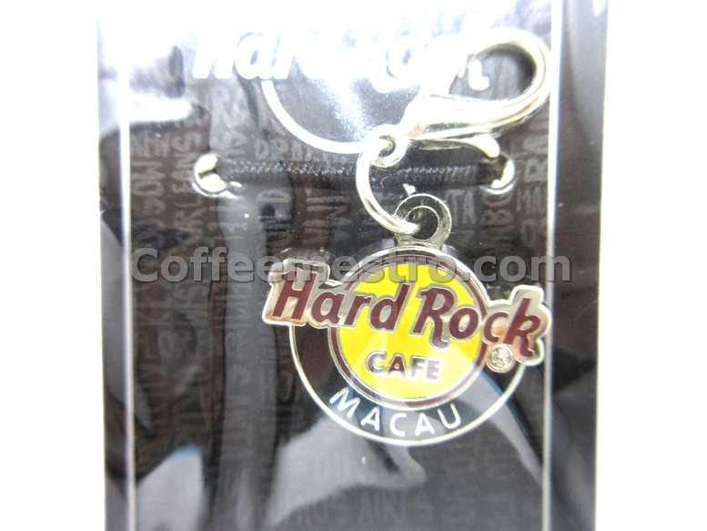 Hard Rock Cafe Macau City Logo Charm