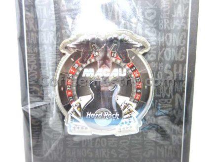 Hard Rock Cafe Macau City Tee Snake 18 Magnet