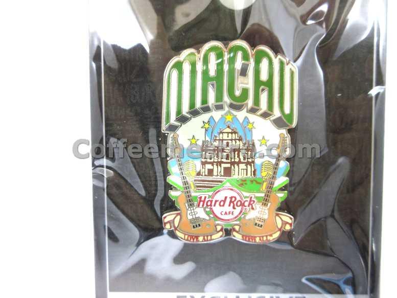 Hard Rock Cafe Macau Exclusive HRC Macau City Pin