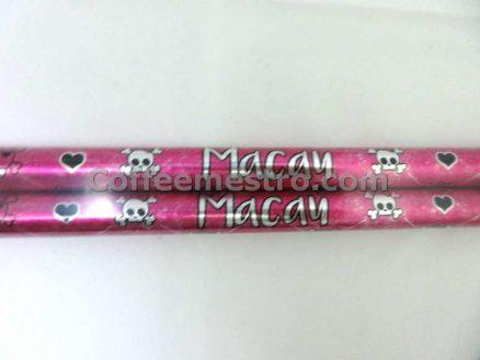 Hard Rock Cafe Macau Pink Skull Drumsticks
