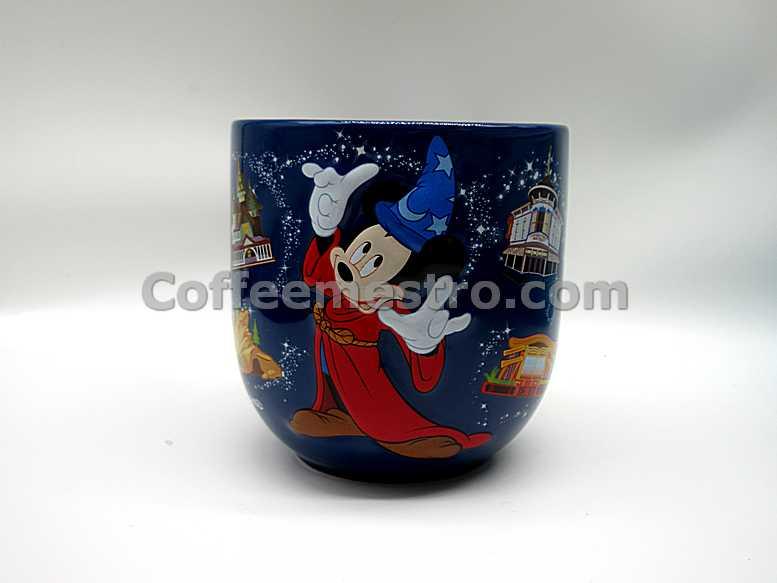 "Hong Kong Disneyland Mickey Mouse ""Happy Journeys"" Souvenir Mug"