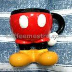 Hong Kong Disneyland Mickey Mouse Legs Alike Mug
