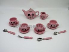 Hong Kong Disneyland Minnie Mouse Mini Ceramic Tea Set