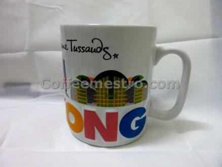 Hong Kong Madame Tussands Souvenir Mug