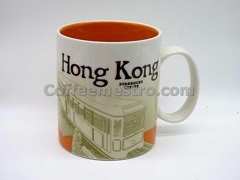 Hong Kong Starbucks 16oz Hong Kong Mug City Series