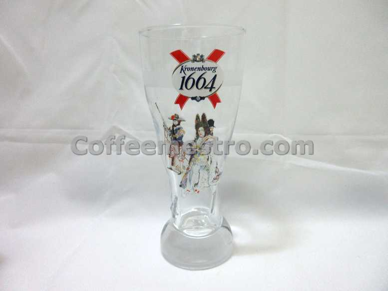 Kronenbourg 1664 Beer Pint Glass