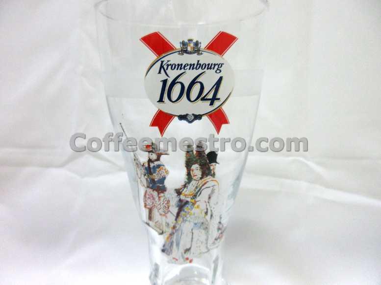 Kronenbourg 1664 Beer Pint Glass