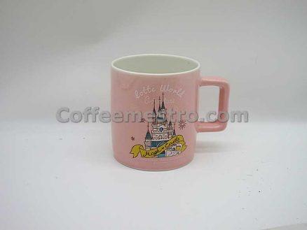 South Korea Seoul Lotte World Adventure Souvenir Mug