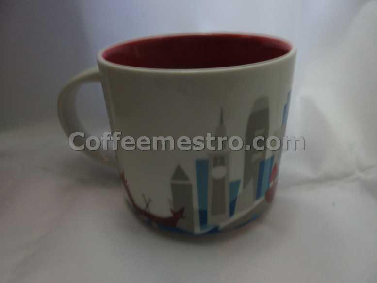Starbucks 14oz You Are Here Hong Kong Mug