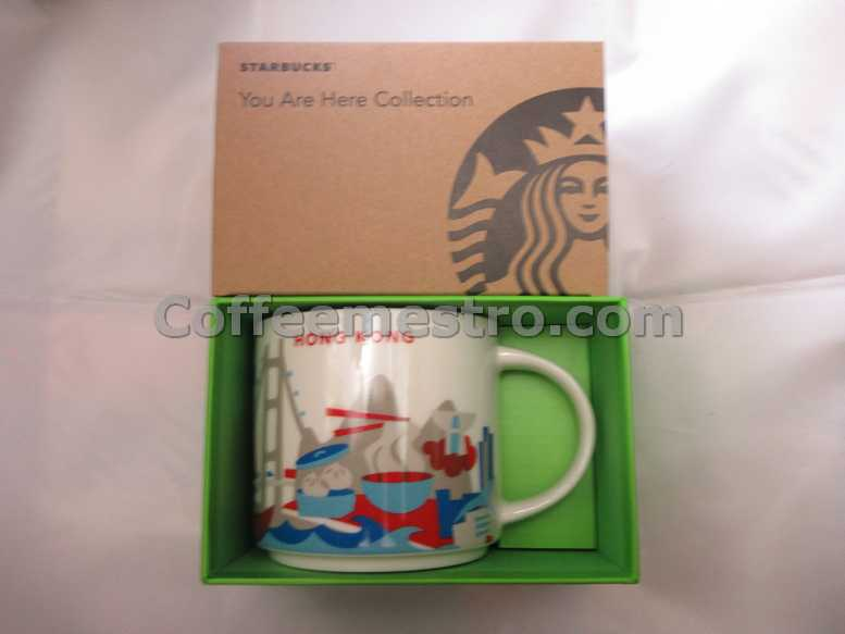 Starbucks 14oz You Are Here Hong Kong Mug