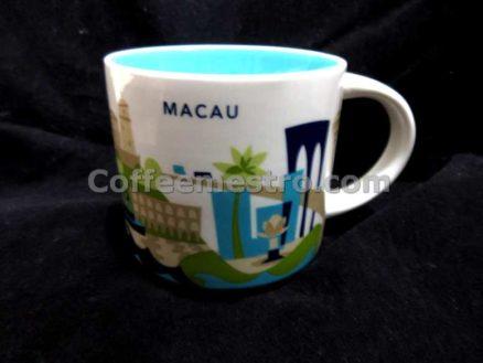 Starbucks 14oz You Are Here Macau Mug