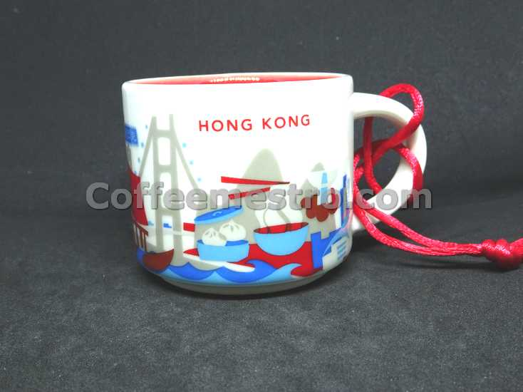 Starbucks 2oz You Are Here Hong Kong Mug / Ornament