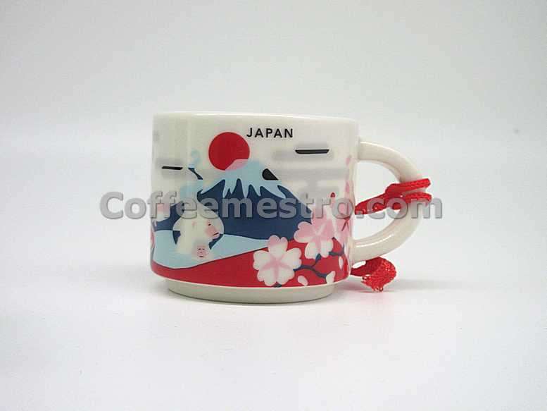 Starbucks 2oz You Are Here Japan Mug / Ornament