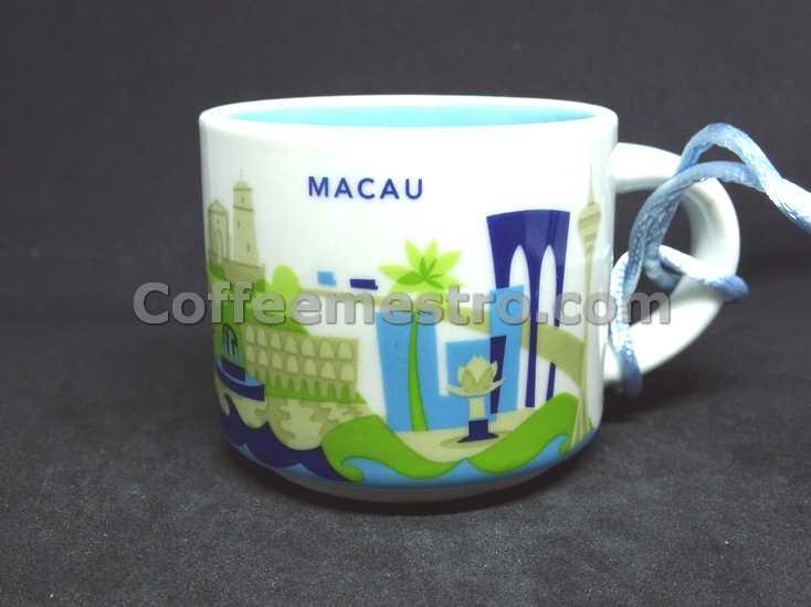 Starbucks 2oz You Are Here Macau Mug / Ornament