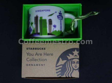 Starbucks 2oz You Are Here Singapore Mug / Ornament (Purple Version)