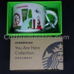 Starbucks 2oz You Are Here Singapore Mug / Ornament (Red Version)