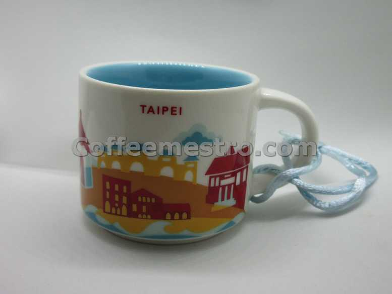 Starbucks 2oz You Are Here Taipei Mug / Ornament