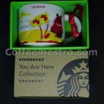 Starbucks 2oz You Are Here Taiwan Mug / Ornament