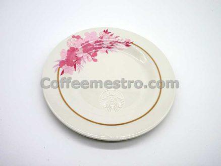 Starbucks Cherry Blossom Ceramic Plate