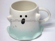 Starbucks Hong Kong 12oz Paranormal Cuteness Ghost Mug