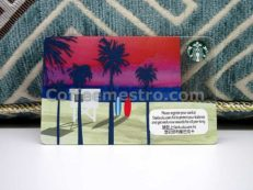 Starbucks Hong Kong Beach Card
