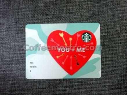 Starbucks Hong Kong Cards (Hearts)
