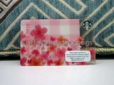Starbucks Hong Kong Cherry Blossom 2018 Card