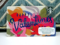 Starbucks Hong Kong Happy Valentine's Day Card