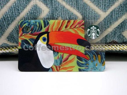 Starbucks Hong Kong Toucan Toco Mini Card