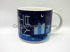 "Starbucks Korea 414ml Busan ""Night Fireworks"" Demi Mug (Discontinued Edition)"