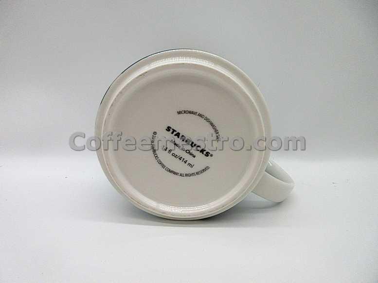 "Starbucks Korea 414ml Seoul ""N Seoul Tower"" Demi Mug (Discontinued Edition)"