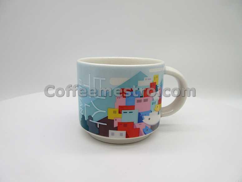 Starbucks Korea 89ml Busan Gamcheon Culture Village Demi Mug (Discontinued Edition)