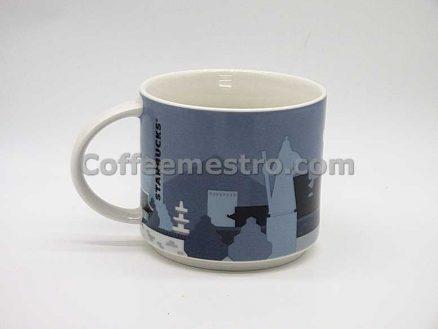 "Starbucks Korea 89ml Seoul ""Palace"" Demi Mug (Discontinued Edition)"