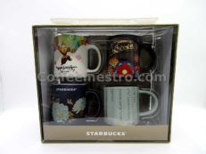 Starbucks Korea Demi Mug Set of 4