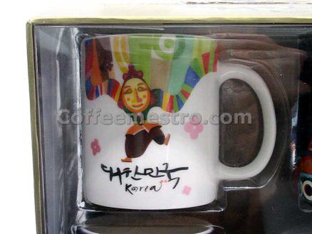 Starbucks Korea Demi Mug Set of 4