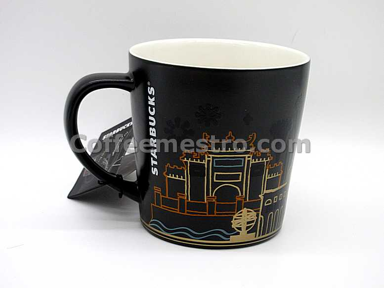 Starbucks Macau 12oz Heat Sensitive Macau Heat Sensitive City Mug