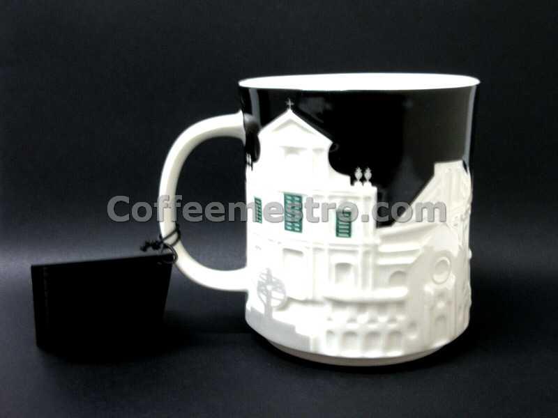 Starbucks Macau 16oz Relief Mug