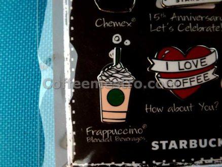 Starbucks Pin Set Macau Starbucks 15th Anniversary